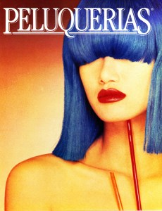 Peluquerias Cover Blue Wig - Early 80s