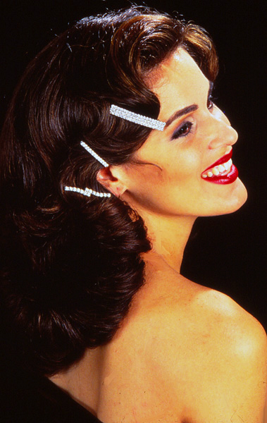 The Rage Now: Barrettes Scattered On Hair – 1993