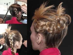 How To Do An Urban Twist Updo NYFW - 2020