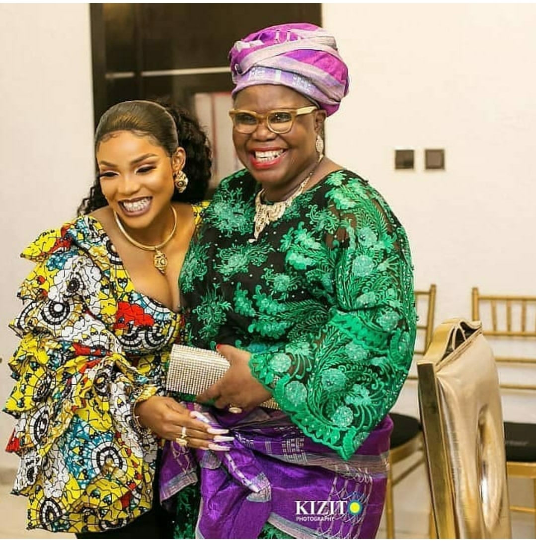 Iyabo Ojo Loses Her Mum Who Died In Her Sleep At 67