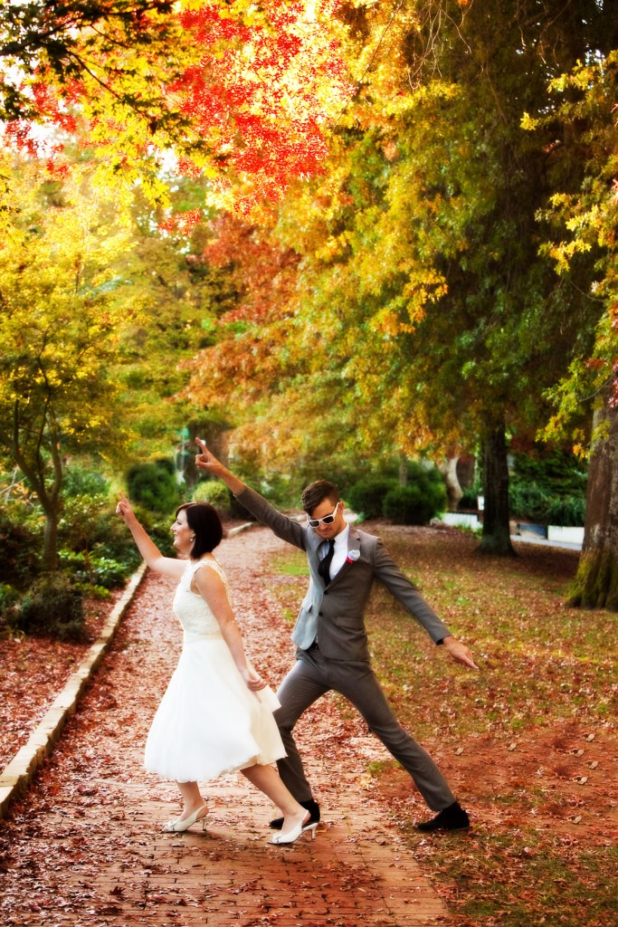 Adelaide Hills Wedding Photography in Autumn