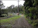 Former Lilyvale Railway station No.1 site in the distance