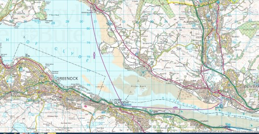 dumbarton trip map