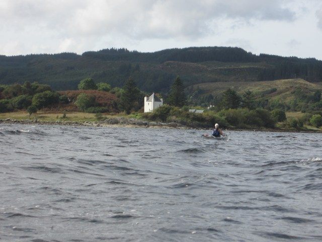 Port House at the entranc of Loch Gair (with waes)