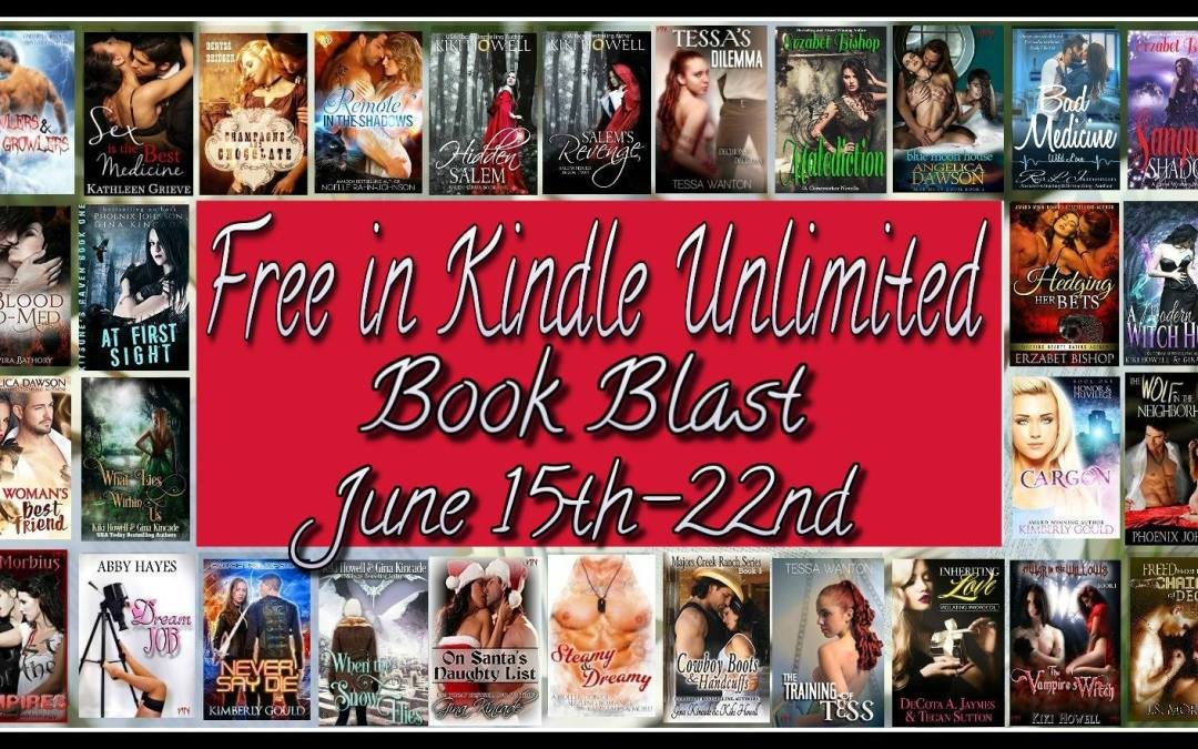 A Kindle Unlimited Celebration and Giveaway!