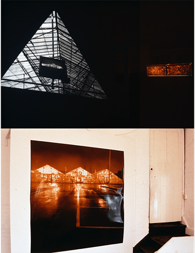 Green House / Yellow Lemon : Installation, Spacex Exeter 1989