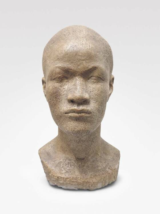 Jussuf Abbo, Bust of a black man