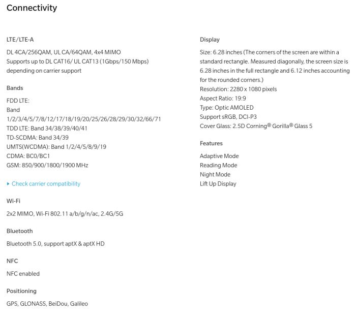 ハイスペックな「OnePlus 6」をクーポンで購入しよう!