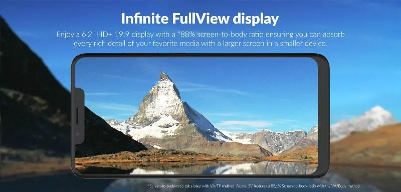 Alcatelからミドルレンジスマホの「Alcatel 5V」がリリースされます。199ドルでコスパ良機種!