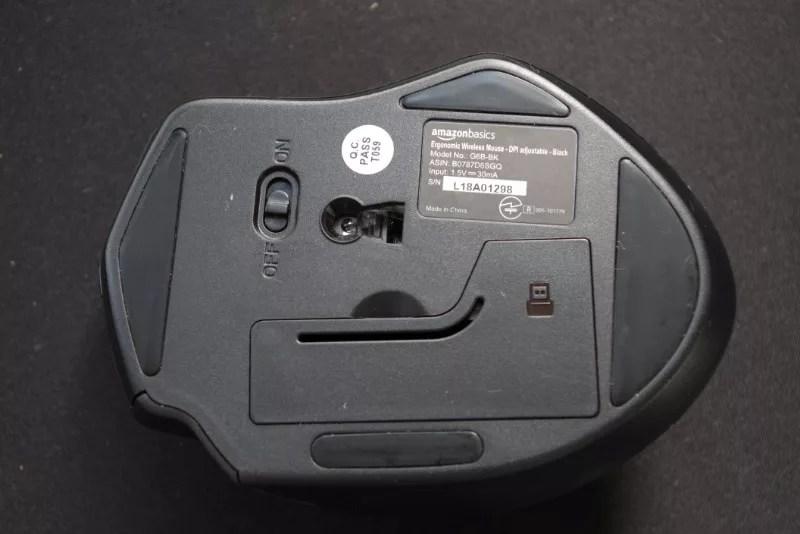 AmazonBasics Wireless mouse 09