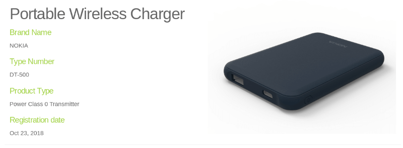 nokia portable wireless charger