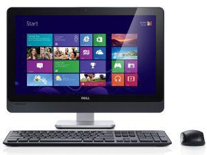 Tastatur, Maus und Bildschirm von Dell mit Windows 10