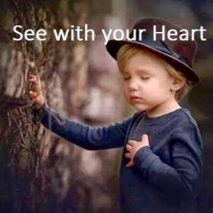Lytt til hjertet ditt.