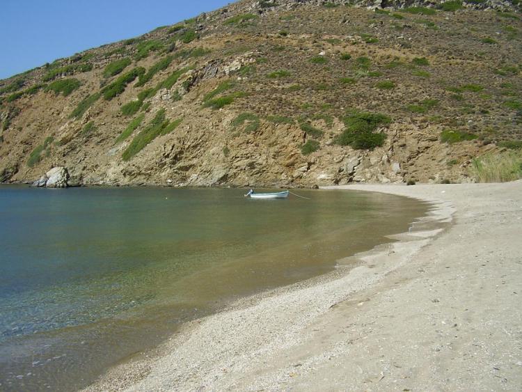 Kourtali beach Andros