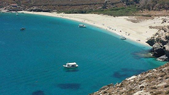 Agios Petros beach Andros