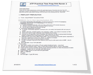 ATP R44II Practical Test Prep Document Preview