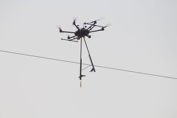 WATCH: DJI Drone Transforms Bird Diverter Installations