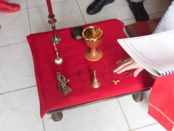 Bénédiction de croix