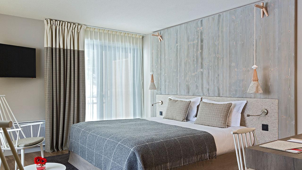 Chambre familiale  Heliopic Hotel  Spa   Chamonix MontBlanc