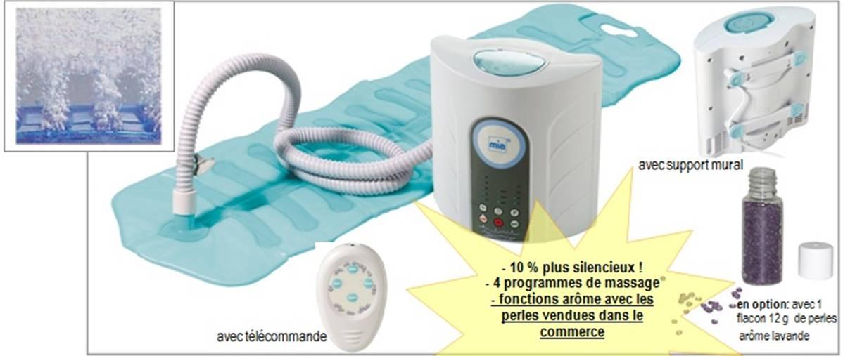 tapis de bain pour hydromassage avec telecommande bain bouillonnant