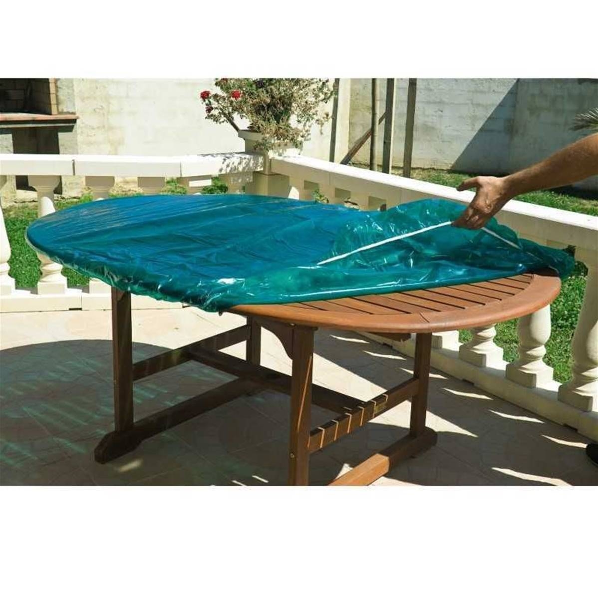 housse de protection pour plateau dessus de table exterieur 160 x 100 cm