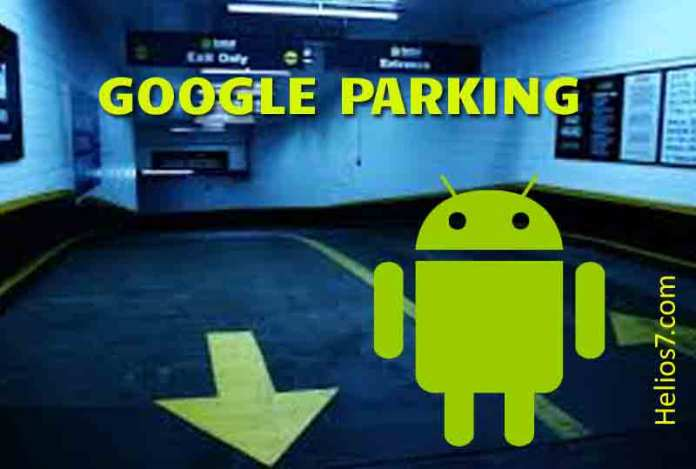google map parking