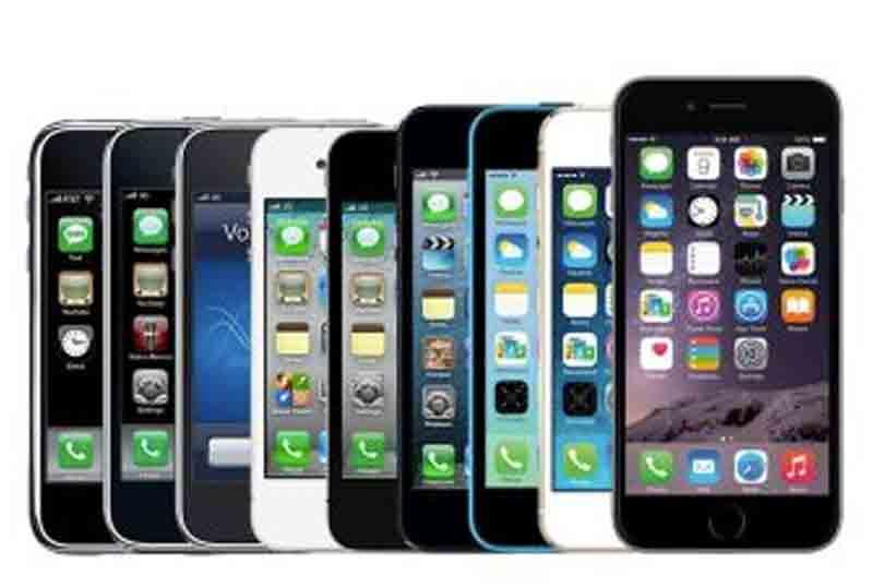 iphone evolution timeline