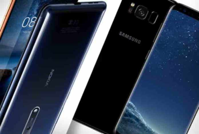 nokia 8 vs samsung galaxy s8