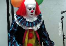 pennywise scary clown