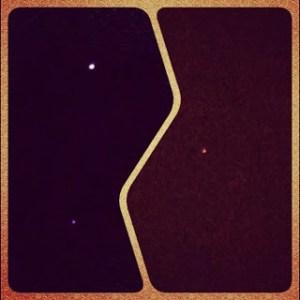 Venus, Jupiter, Mars light up my sky