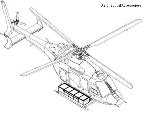 Bell 429 Cargo Basket available