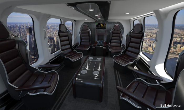Another VIP Bell 525 to Middle East