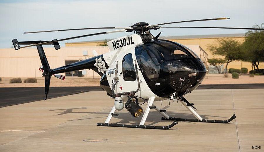 Virginia Beach Police Orders MD530F
