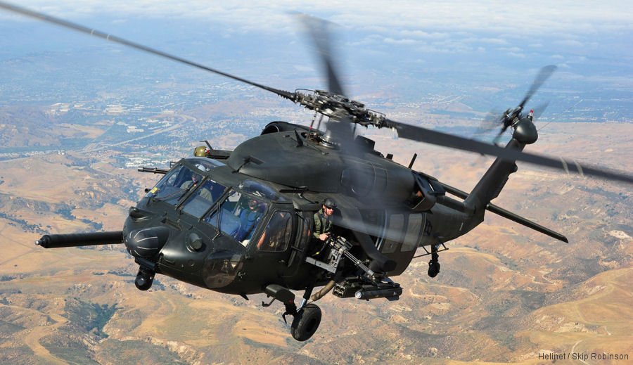 Helinet Aviation adds UH60A ESSS Black Hawk
