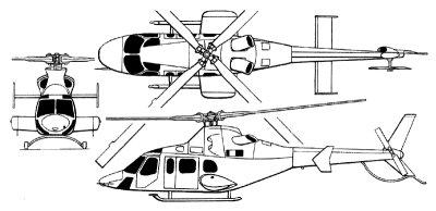MOH-1 N430LC N430LF Bell 430 C/N 49096