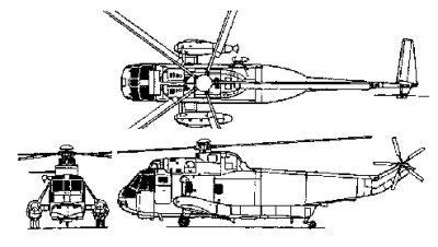 Sikorsky S-61 H-3
