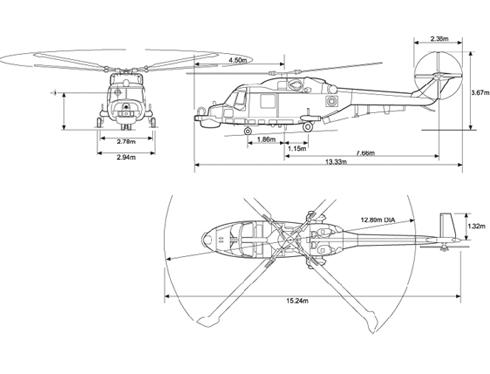 Westland Super Lynx 300 helicopter
