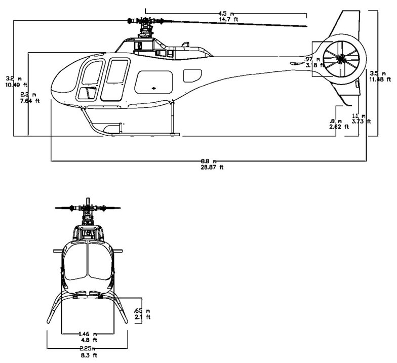 Composite Helicopters KC518 Adventourer helicopter