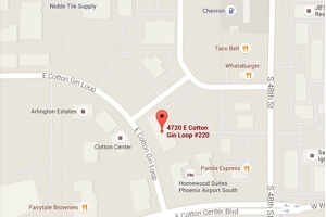 Google map of Arizona office