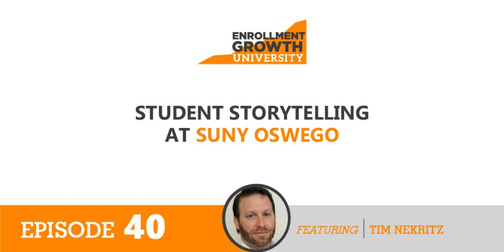 Student Storytelling At Suny Oswego Helix Education