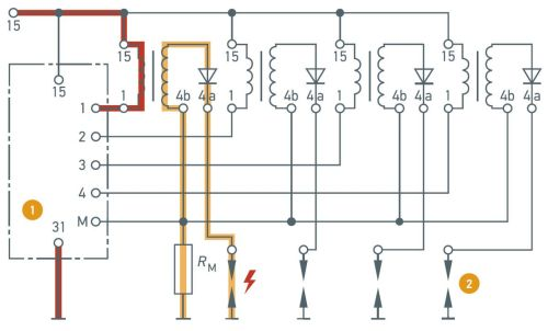 small resolution of high voltage distribution in single spark ignition coils