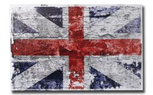 Πίνακας Καμβάς Vintage Look Union Jack 40x60cm, Out of the blue 810259 - Out Of The Blue