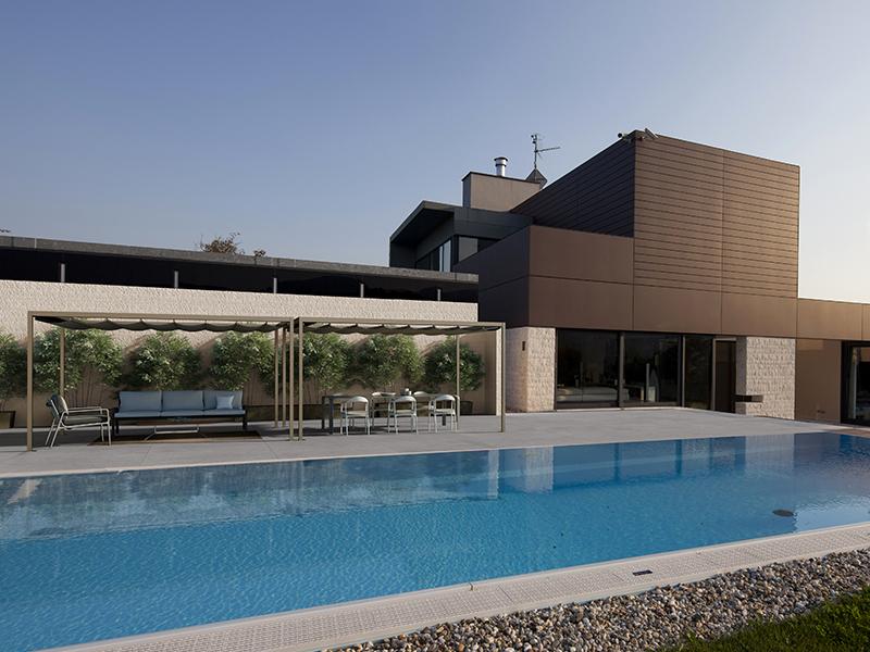 Gazebi e accessori bordo piscina  Hellas Piscine