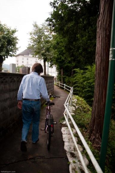 David and Bicycle