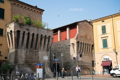 Within short walking distance from Imola's train station is Bastioni di Port'Appia, the historic city gate towers dating back to the Italian Renaissance.
