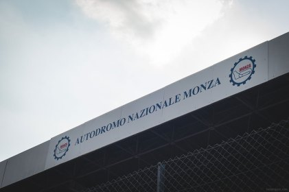 Main grandstand at Monza