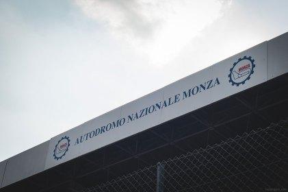 Main grandstand at Monza