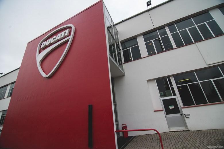 Ducati's Borgo Panigale factory