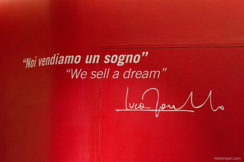 """We sell a dream"""