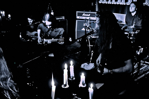 Alcest live by Adam Wills